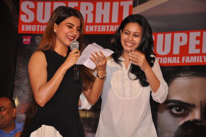 Samantha at Raju Gari Gadhi 2 Success Meet