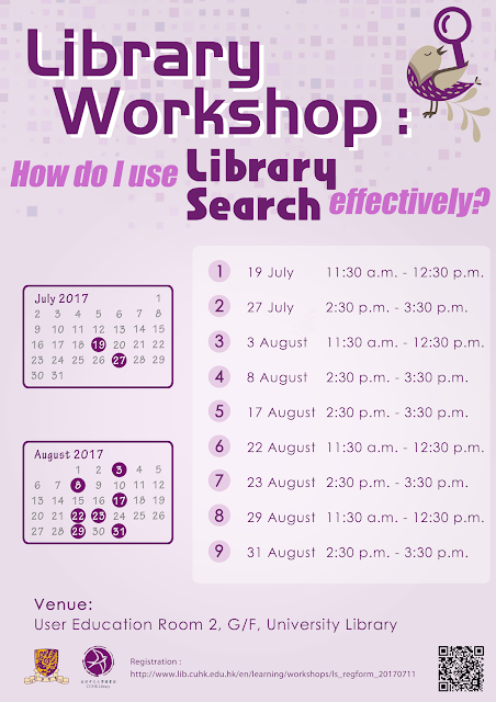 Library Workshop: How do I to use LibrarySearch effectively?