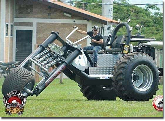 Motos mais bizarras do mundo - Trike Big Foot