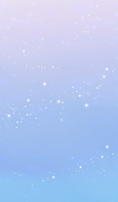 Pastel Milky Way