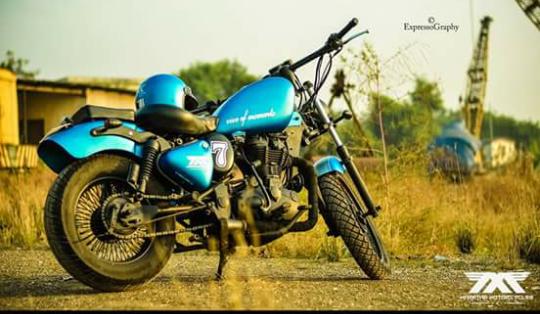 Maratha Motorcycles Saphyra