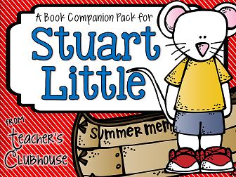http://www.teacherspayteachers.com/Product/Stuart-Little-Book-Companion-Pack-1287314