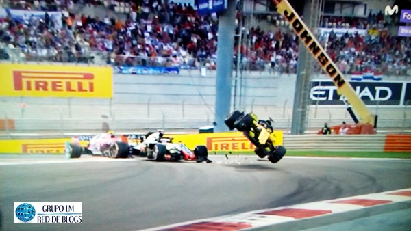 ACCIDENTE DE HULKENBERG