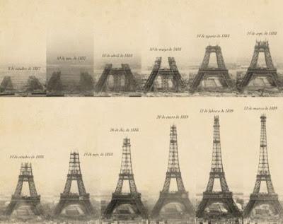 Torre Eiffel, construcción