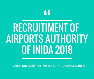 Airports Authority Recruitment 2018