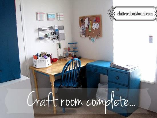 My Craft Room Reveal...