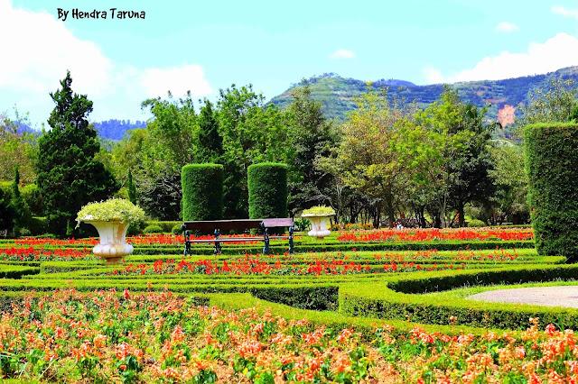 taman bunga nusantara kota purbalingga