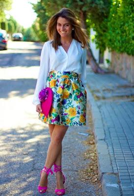 coleccion de Faldas Casuales Moda