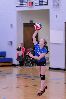GHMS Volleyball vs Lowpoint-Washburn February 13, 2019