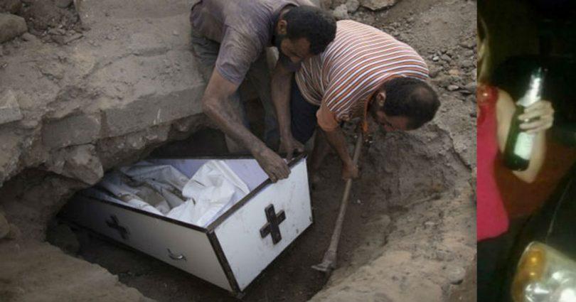Την Έθαψαν Ζωντανή Και Προσπαθούσε 10 Ημέρες Να Βγει Από Το Φέρετρο! (Βίντεο)
