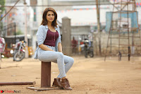 Shraddha Das in a Lovely Brown Top and Denim jeans ~ Exclusive Unseen Beauty HD Pics 021.JPG