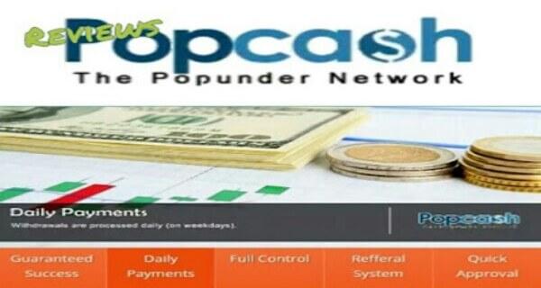 Review popcash, jaringan iklan popunder terbaik