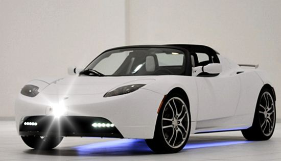2017 Tesla Roadster Redesign