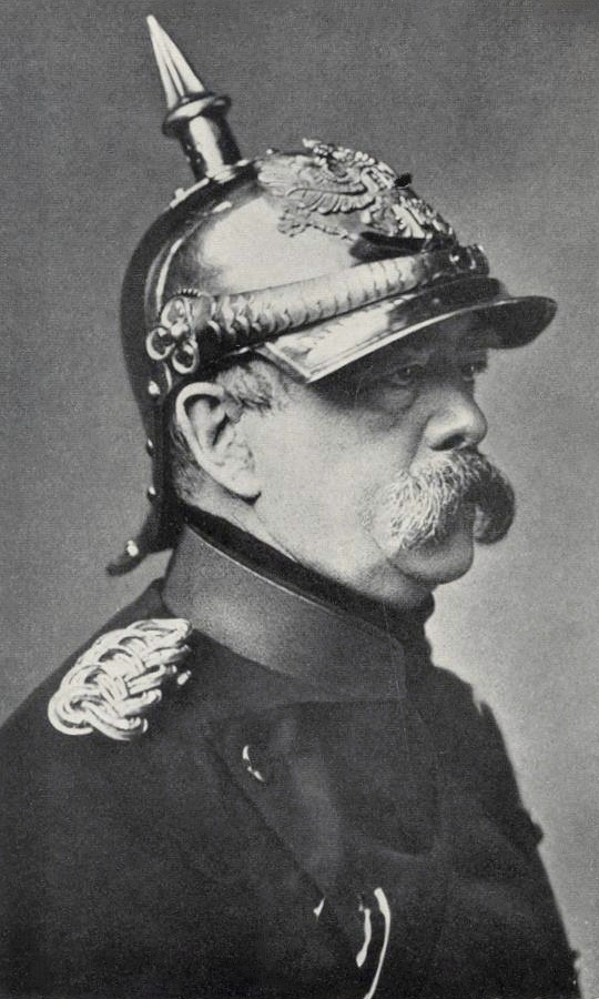 strong leadership of bismark unites the german states How far was bismarck's success in unifying germany between 1862 and 1871 due mainly to the mistakes of others when the declaration of the german empire was read in the palace of versailles in 1871.