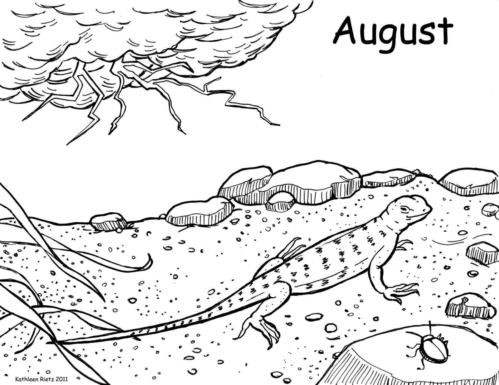 Tornado storm coloring pages prairie storms quot august coloring