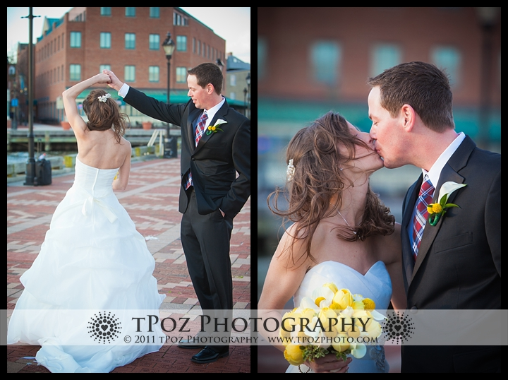 First Look Wedding Fells Point