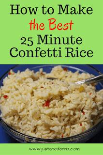 Confetti Rice in 25 Minutes