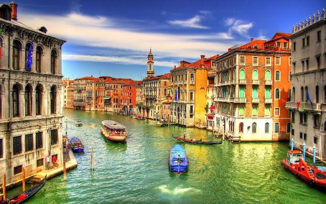 Fuso horário em Veneza