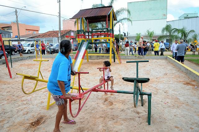 Ceilândia recebe área revitalizada por reeducandos da Funap