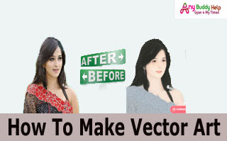 1 click me vector art photo kaise banaye anybuddyhelp