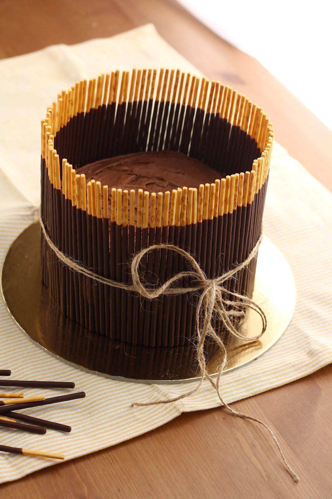 Chocolate Banana Pocky Cake Hummingbird High A