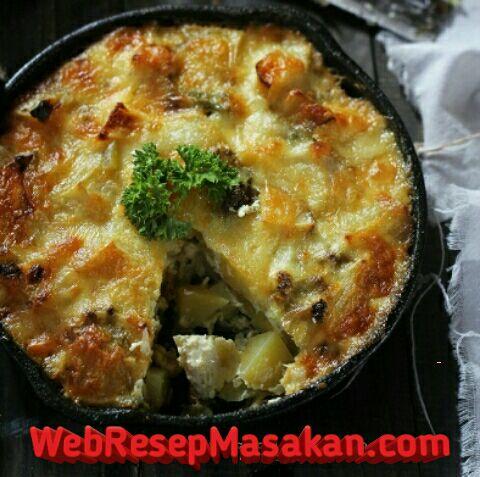 Baked Potato Cheese, resep baked potato cheese,