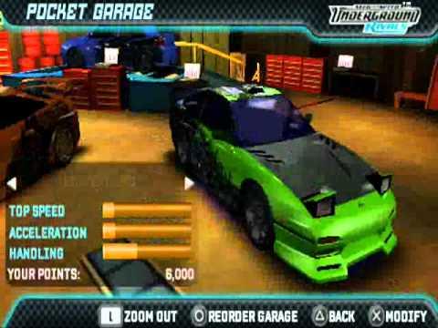 Need for Speed: Underground Rivals screenshot 1
