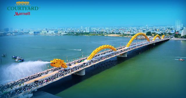 Vị trí đắc địa của dự án Marriott Courtyart Đà Nẵng