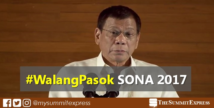 SONA 2017: Class suspensions on Monday, July 24 #WalangPasok