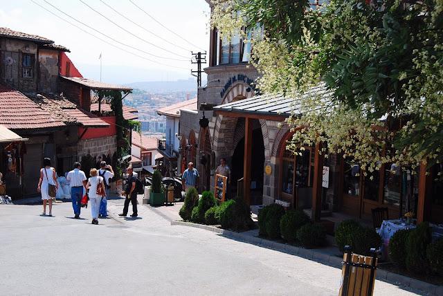 vieux quartier d'Ankara