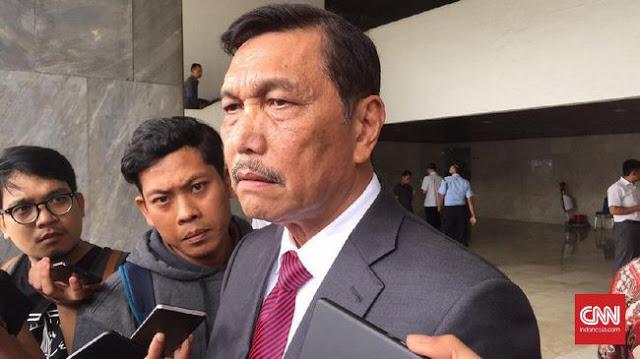 Luhut : Pekerja Indonesia Tak Punya Skill, Harus Dihandle Pekerja China!