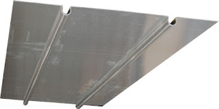 Tôle aluminium Caleosol Budget 39cm de large