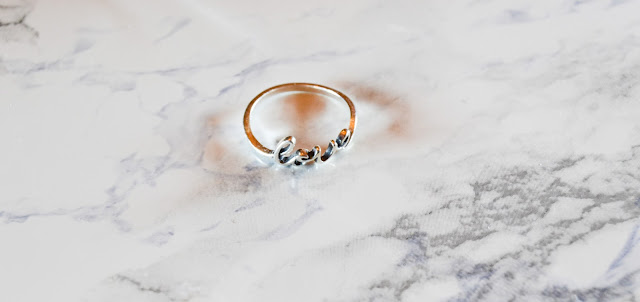 Oliver Bonas Love Ring
