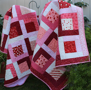 Charm-Squares-Sweetheart-Sisters-Baby-Quilt