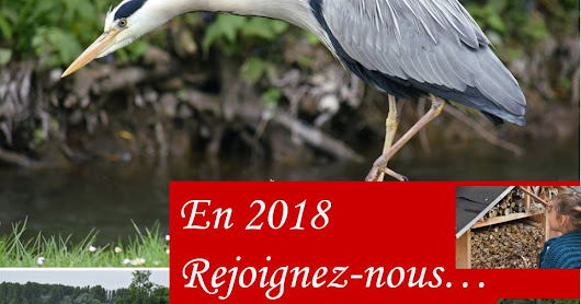 Cotisation 2018 à l'association Nature'L