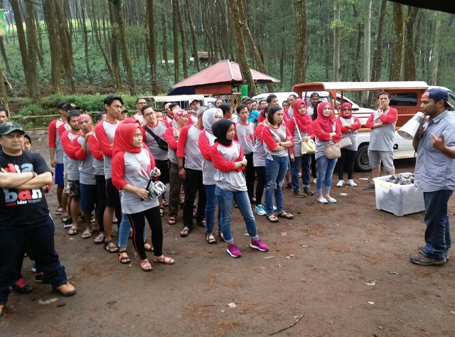 bagus grup gathering di gravity adventure