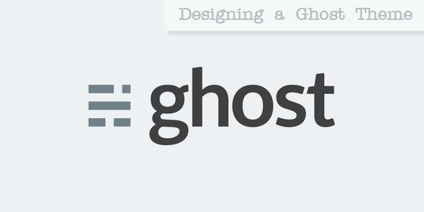 Ghost blogging platform logo
