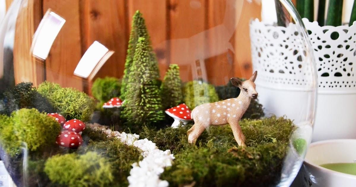 M s y m s manualidades 10 mini jardines en peceras de vidrio for Peceras en jardines