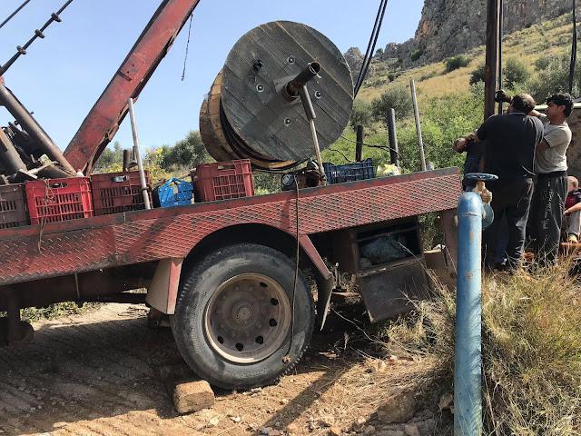 Επισκευάστηκε η γεώτρηση στη Κλεισούρα του Δήμου Ναυπλιέων