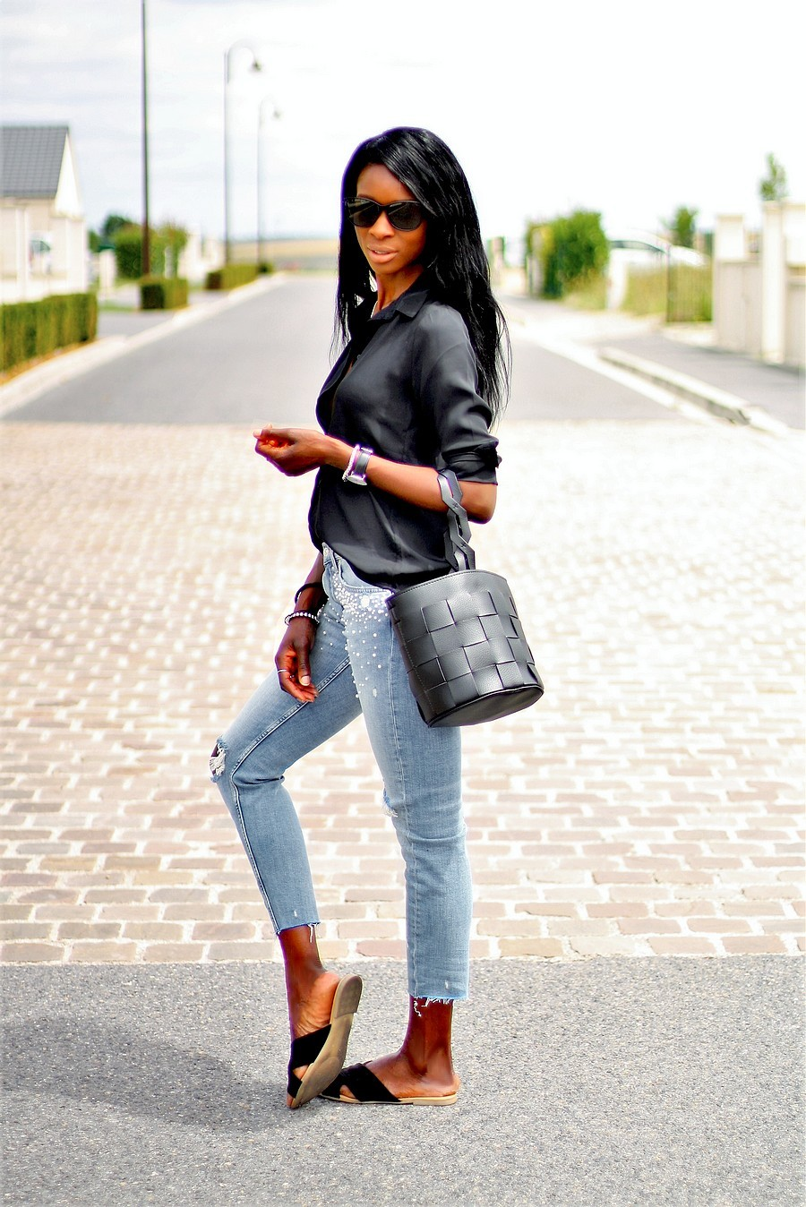 sac-panier-jeans-perles-chemise-style-inpiration