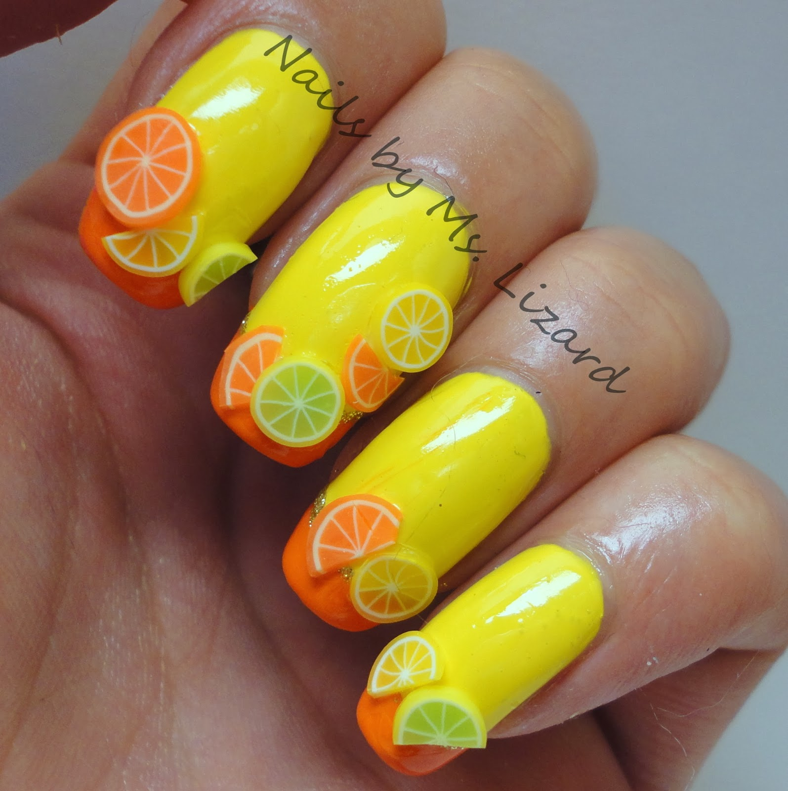 Fimo Fruit Nail Art | www.imgkid.com - The Image Kid Has It!