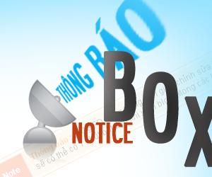 [Chia sẻ] - Tạo hộp thoại thông báo cho blog