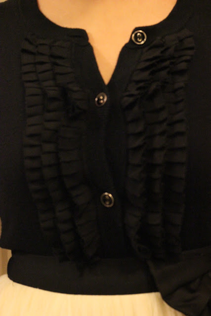 Pleated Merona Cardigan