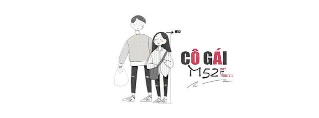 3. Ảnh Bìa Facebook Bài Hát Cô Gái M52 | Huy ft. Tùng Viu
