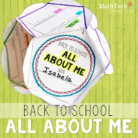 back to school - all about me project - dodecahedron project