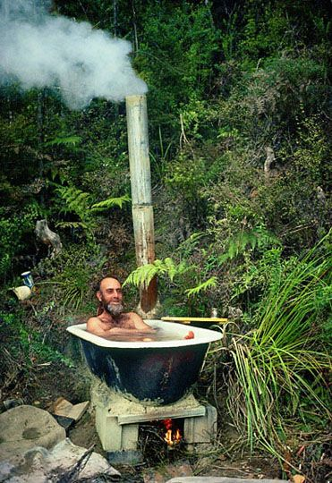 Diy Outdoor Bath: DIY Warm Outdoor Hot Tub Without Spending A Fortune