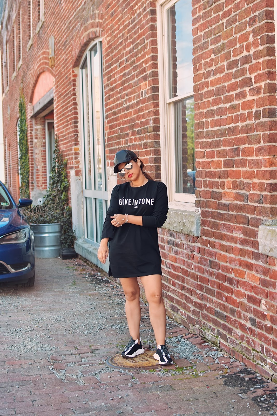 Oversized T-Shirt Dress-mariestilo-travelblogger-richmond va-visit richmond-virginia is for lovers-luxe gal-dcblogger-modaelsalvador-marisolflamenco-