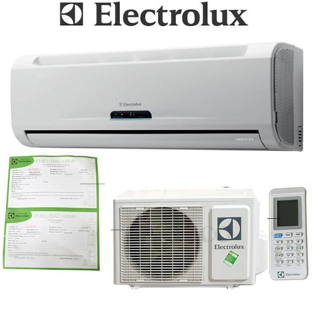 Danh sách mã lỗi của điều hòa Electrolux