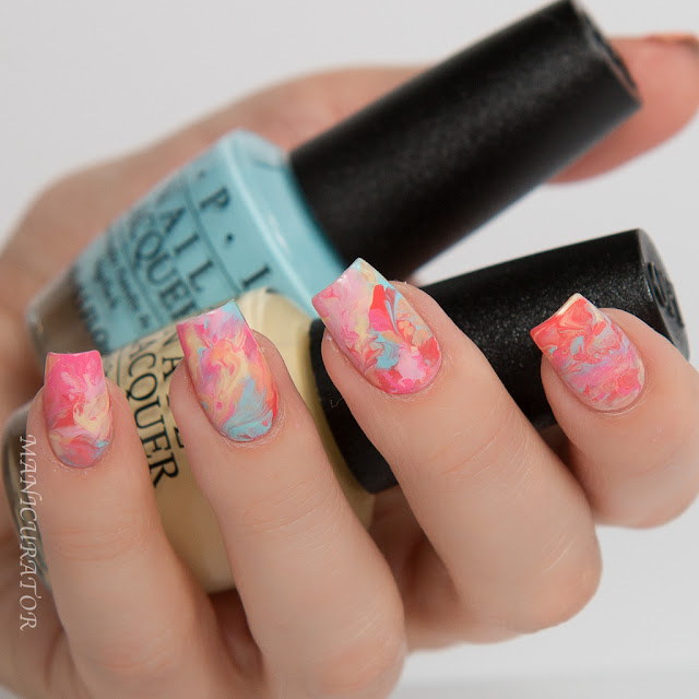 Sally-Beauty-OPI-Retro-Summer-Smoosh-Marble-Nail-Art