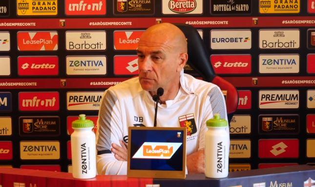 La conferenza stampa di mister Davide Ballardini alla vigilia di Atalanta Genoa , gara valida per la 35 giornata di serie A